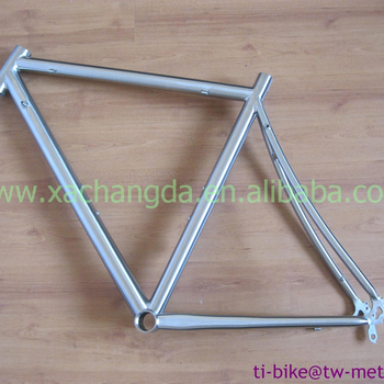 High light titanium road bicycle frame titanium racing bicycle frame custom touring bicycle frames 700c