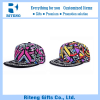Customize British style 6 panel plain blank snapback hat