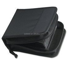 Factory custom Portable Durable nylon CD/DVD storage bag carrying case
