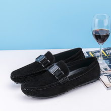 wholesale 2016 man fashion falt sole leather boat driver loafer shoes