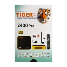 Digital satellite tv receiver manufacture Tiger Z400 Pro DVB S2 TV box with free iptv