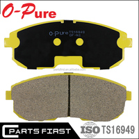 Ts16949 OEM China supplier brand name automotive original change eco brake pad factory brake shoe manufacturers For Car