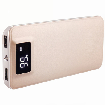 Ultra High Capacity External Battery Pack 20000mAh Mobile Charger LCD Display Screen Power Bank for iPhone