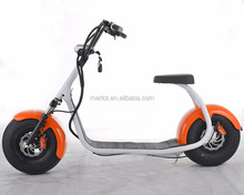 2017 dubai electric scooter with bluetooth/anti-theft/front and rear suspension