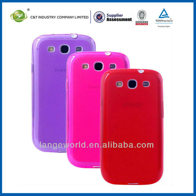 C&T Red TPU cover case for galaxy s3