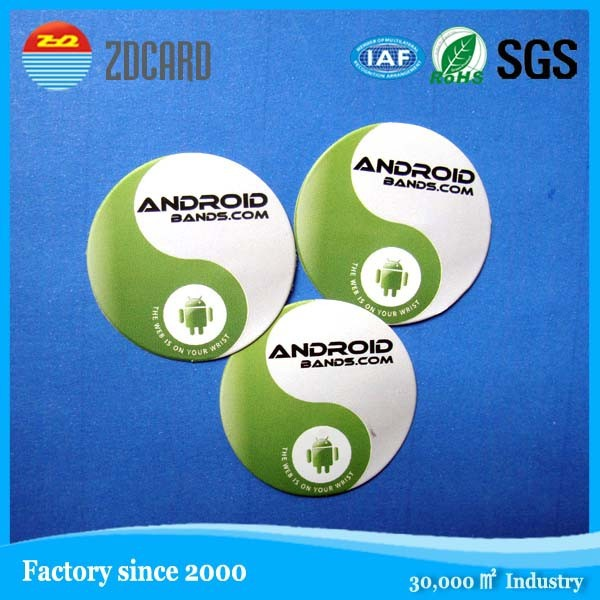 NFC Tag / NFC Sticker with NTAG203 / NTAG213 / NTAG216 (Special Offer from 8-Year Gold Supplier )