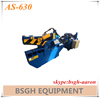 AS-630 hydraulic scrap metal alligator cutting shearing machine for angle iron