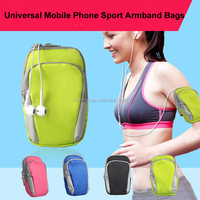 6 inch Mobile Arm Bag Wallet Outdoor Cycling Sports Running GYM Wrist Pouch For iPhone 6S 6 plus for Samsung Note5 S6 Edge plus