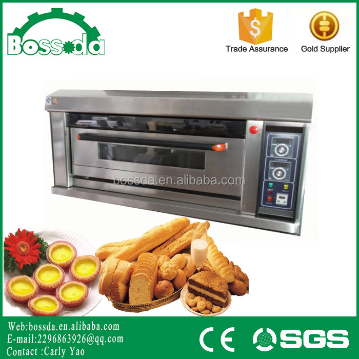 BOSSDA Full-automatic single Trays Electric single Deck Bakery Oven