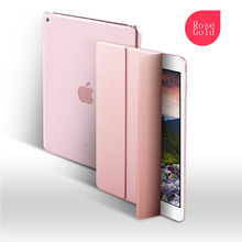 New Design shockproof Silicone Smart Leather Rotatable Cover For Ipad Air, Case For Ipad Air