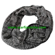 Scarf With Zipper Pocket Fashionable Pocket Winter Infinity Scarf