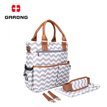 High Capacity Travel Outside Maternity diaper bag white mummy bag