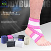 Breathable Bandage Ankle Support Brace with Adjustable Straps for Sprains Fatigue