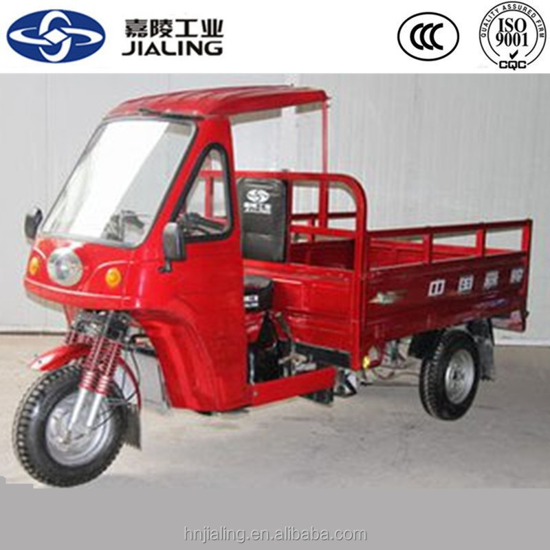 petrol cargo 3 wheel motorcycle for family use