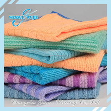 Bright Colored Bath Cleaning Microfiber Towel Wholesale