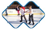 Low Coefficient Of Friction Ice Rink Boards