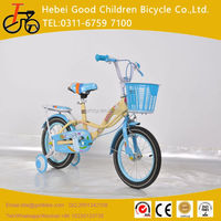 2016 kid bicycle / baby cycle 20 inch / children's bike bicycle with 4 training wheels