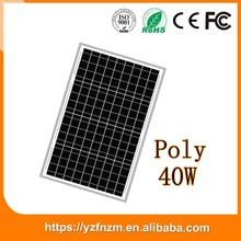 china manufacturer sun power solar panel 40w poly good quality, photovoltaic module