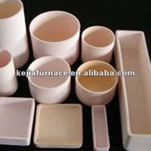 High pure alumina crucible with high density of slip casting