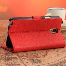 wallet case for samsung galaxy note 3 protective sleeve case for N9000