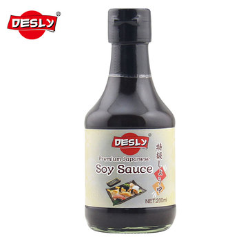 BRC Certified Traditional Japanese soy sauce Soy shoyo 200ml