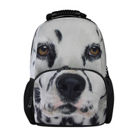 3D Dog Pattern Men and Women Backpack, Travel Sports bag,Fashion Shoulder Laptop Bag