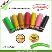 OEM/ODM for e cigarette 808d pcc starter kit & 808d-1 battery/808d-2 atomizer & 808d atomizer 808d tank cartomizer