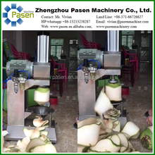 Hot Selling Coconut Peeling Machine/Green Coconut Processing Cutter Type Coconut Trimming Machine