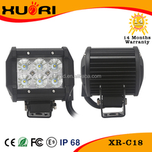 Hot sale auto waterproof 18w led light bar on ram 1500 for truck