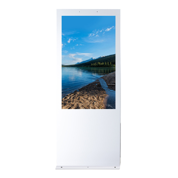49 Inch Outdoor Floor Stand Digital Signage Kiosk