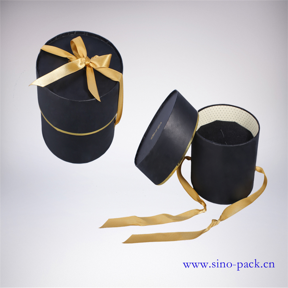 jewelry gift paper tube packaging box