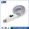 TPU /pvc usb cable otg usb flash drive 2 in 1 usb cable