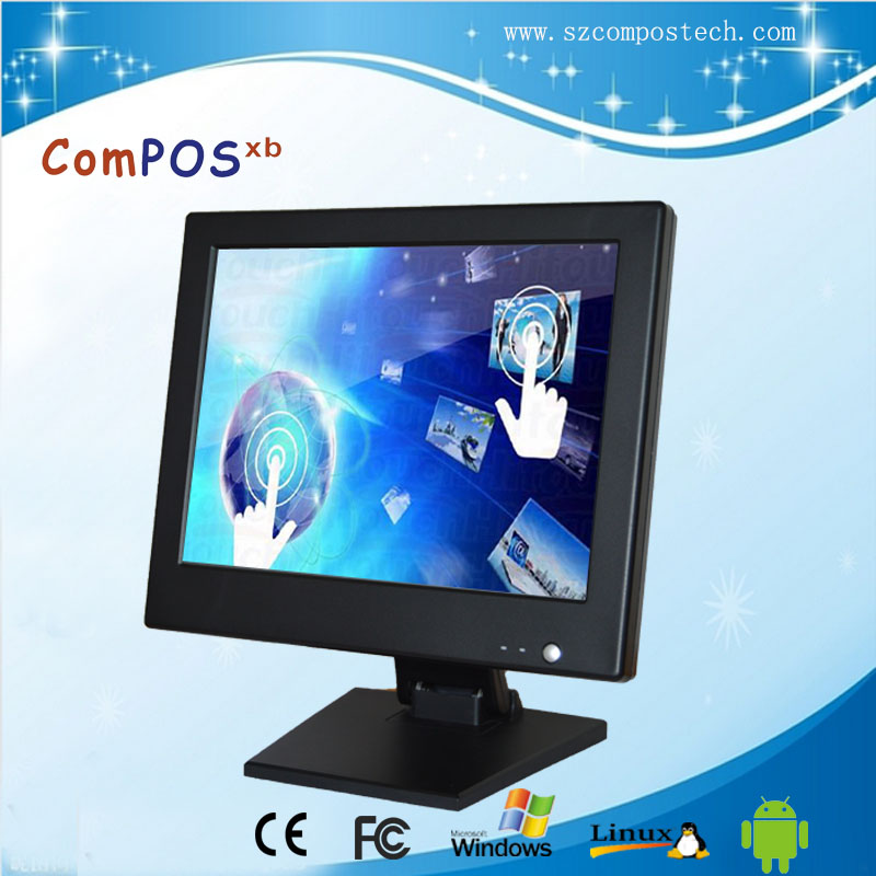 "AAA grade LCD panel Special 15"" lcd monitor touch screen pos system with wholesale price"