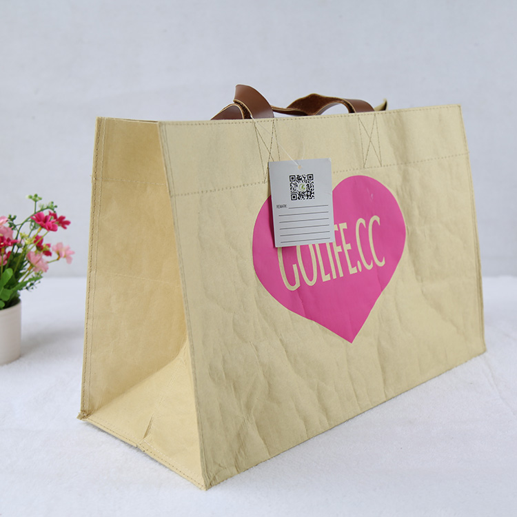 Promotional shopping customized kraft paper bag