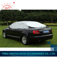 New coming hot sale waterproof half car cover