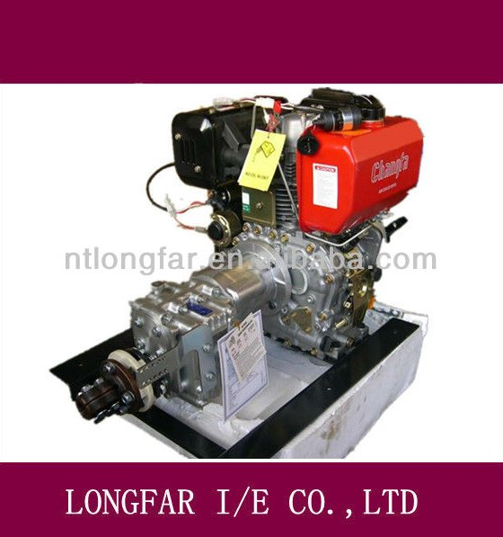 Air-cooling boat marine diesel inboard fishing boat motor D20H water jet boat engine