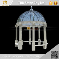 Beautiful carving stone gazebo , Outdoor gazebo