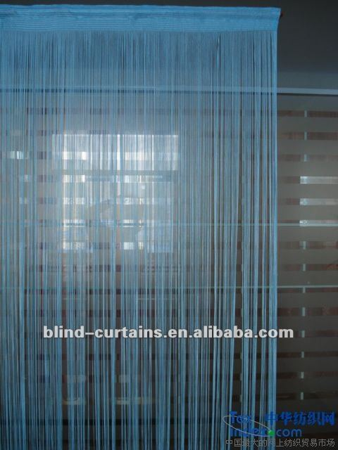 Chain line curtain