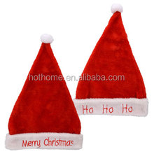 promotional fashion Christmas hat for santa decoration