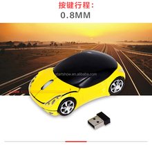 Wireless Mouse Fashion Super Car Shaped Mouse 2.4Ghz Optical Mouse For PC Laptop Computer