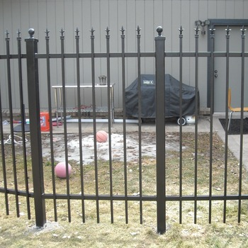 Hot dipped galvanized metal fence for garden and house