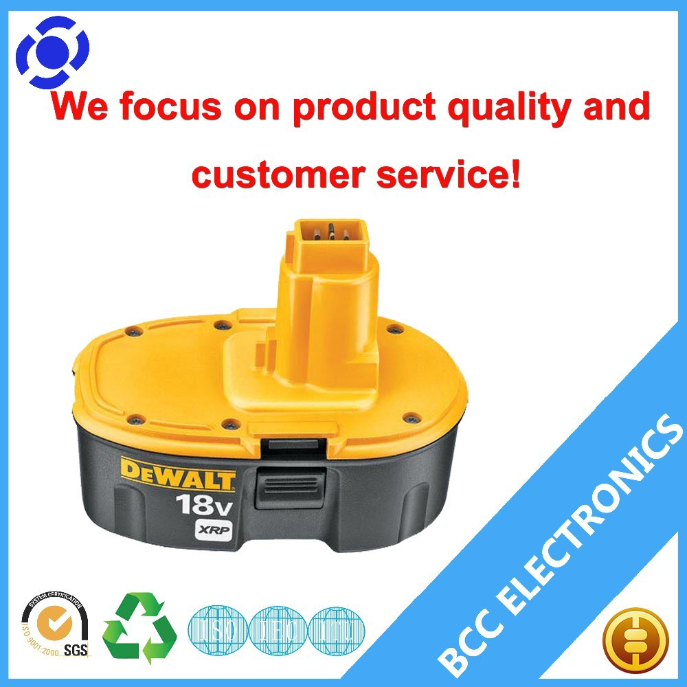Replacement Dewalt 18V Lithium-Ion Battery for Dewalt DC9182