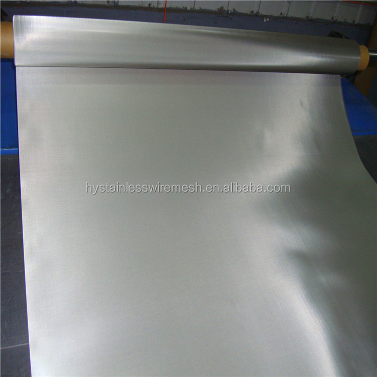 Manufacturer spot supplies ISO9001 stainless steel wire titanium mesh screen