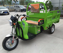 2016 high quality 1000w/1500w 18 Tubes Controller 48V Electric adult cargo 3 wheel motorcycle With Spare Parts