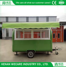 Top quality fast food truck electrical hot dog cart for sale