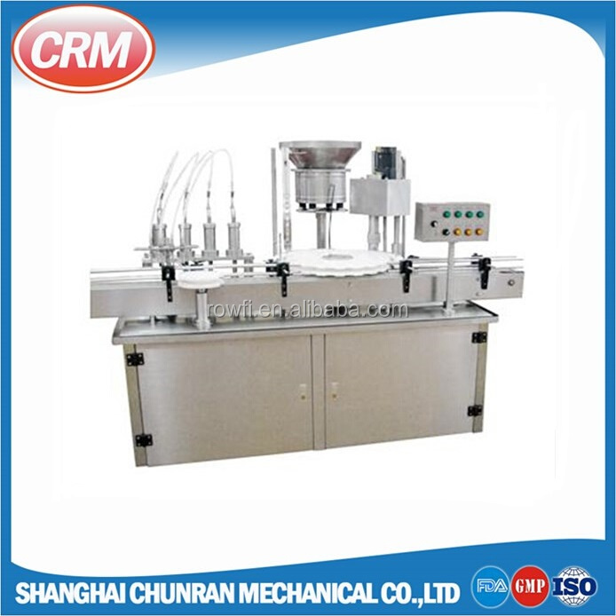 Automatic liquid filling machine 1ml with peristaltic pump