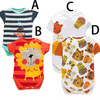 Alibaba China Wholesale Boutique Animal Print Design Mini Baby Rompers Clothes