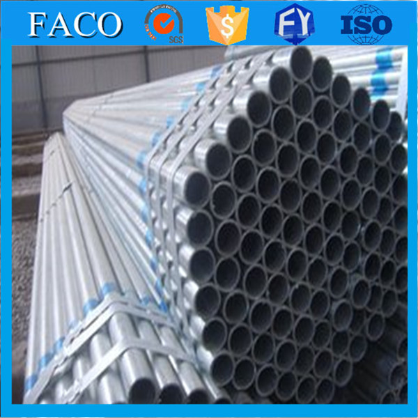 made in China round glavanized carton steel greenhouse pipe steel tube 8 pakistani