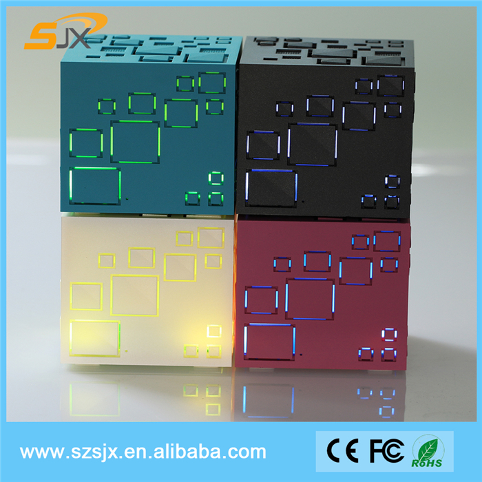 2016 Best Price Magic Cube Mini Bluetooth Speaker Q+ TF FM Wireless Portable Bluetooth Speaker