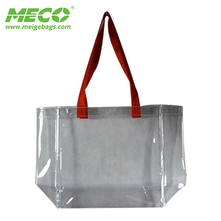 Superior quality pvc <strong>tote</strong> bag pvc plastic bag pvc bag with zipper